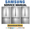 Thumbnail Samsung RF261BEAESR Service Manual & Repair Guide