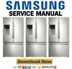 Thumbnail Samsung RF263TEAESR RF263TEAESG Service Manual Repair Guide