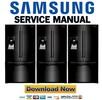 Thumbnail Samsung RFG295AABP Service Manual and Repair Guide