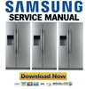 Thumbnail Samsung RS264ABSH RS264ABBP RS264ABRS RS264ABWP Service Manual