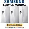 Thumbnail Samsung RS275ACWP Service Manual & Repair Guide