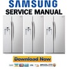 Thumbnail Samsung RSG257AAWP Service Manual & Repair Guide