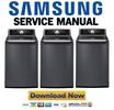 Thumbnail Samsung  WA484DSHA WA484DSHASU WA484DSHASU/A1 Service Manual and Repair Guide