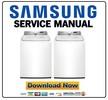 Thumbnail Samsung WA400PJHDWR Service Manual and Repair Guide