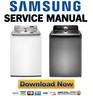 Thumbnail Samsung WA456DRHDWR WA456DRHDSU Service Manual and Repair Guide
