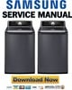 Thumbnail Samsung WA476DSHASU Service Manual and Repair Guide