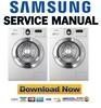 Thumbnail Samsung WD0704REC Service Manual and Repair Guide