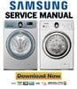 Thumbnail Samsung WD9122CLE WD9102RNW Service Manual and Repair Guide