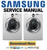 Thumbnail Samsung WF219ANB WF219ANW Service Manual and Repair Guide