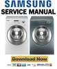 Thumbnail Samsung WF317AAW WF317AAS WF317AAG Service Manual and Repair Guide