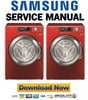 Thumbnail Samsung WF338AAR WF338AAB WF338AAG WF338AAW Service Manual and Repair Guide
