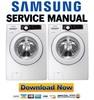 Thumbnail Samsung WF361BVBEWR Service Manual and Repair Guide