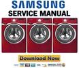 Thumbnail Samsung WF393BTPARA Service Manual and Repair Guide