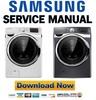 Thumbnail Samsung WF455ARGSWR WF455ARGSGR Service Manual and Repair Guide