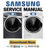 Thumbnail Samsung WF457ARGS WF457ARGSGR WF457ARGSWR Service Manual and Repair Guide