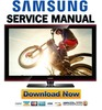 Thumbnail Samsung  PN63A650 PN63A650T1F Service Manual and Repair Guide