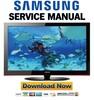 Thumbnail Samsung PN42B430 PN42B430P2D Service Manual and Repair Guide