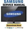 Thumbnail Samsung PN42B450 PN42B450B1D Service Manual and Repair Guide