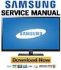 Thumbnail Samsung PN43D430 PN43D430A3D Service Manual and Repair Guide