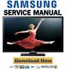 Thumbnail Samsung PN43E450 PN43E450A1F Service Manual and Repair Guide