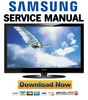 Thumbnail Samsung PN50A530 PN50A530S2F Service Manual and Repair Guide