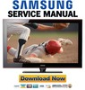 Thumbnail Samsung PN50A650 PN50A650T1F Service Manual and Repair Guide