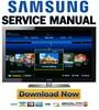 Thumbnail Samsung PN50B860 PN50B860Y2F Service Manual and Repair Guide