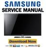 Thumbnail Samsung PN50C550 PN50C550G1F Service Manual and Repair Guide