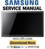 Thumbnail Samsung PN50C8000 PN50C8000YF Service Manual and Repair Guide