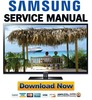 Thumbnail Samsung PN51D530 PN51D530A3F Service Manual and Repair Guide