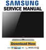 Thumbnail Samsung PN51D550 PN51D550C1F Service Manual and Repair Guide