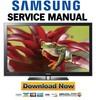 Thumbnail Samsung PN58C6500 PN58C6500TF Service Manual and Repair Guide