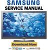 Thumbnail Samsung PN58C8000 PN58C8000YF PN58C8000YFXZA Service Manual and Repair Guide