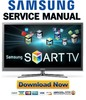 Thumbnail Samsung PN59D8000 PN59D8000FF Service Manual and Repair Guide