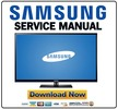 Thumbnail Samsung PN60E530 PN60E530A3F PN60E530A3FXZA Service Manual and Repair Guide