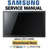 Thumbnail Samsung PN63C7000 PN63C7000YF PN63C7000YFXZA Service Manual and Repair Guide