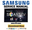 Thumbnail Samsung PN64E550 PN64E550D1F Service Manual and Repair Guide