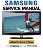Thumbnail Samsung UN26C4000PD UN22C4000PD UN19C4000PD Service Manual and Repair Guide