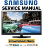 Thumbnail Samsung UN40D5005 UN40D5005BF Service Manual and Repair Guide