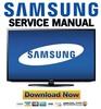 Thumbnail Samsung UN40EH5300 UN40EH5300F Service Manual and Repair Guide