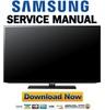 Thumbnail Samsung UN50EH5000 UN50EH5000F Service Manual Repair Guide