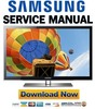 Thumbnail Samsung UN55C6400RF UN46C6400RF UN40C6400RF Service Manual