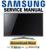 Thumbnail Samsung UN65C8000 UN55C8000 UN46C8000 Service Manual and Repair Guide