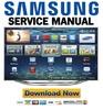 Thumbnail Samsung UN65ES8000 UN65ES8000F UN60ES8000 UN60ES8000F Service Manual
