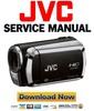 Thumbnail JVC GZ HM200 Service Manual and Repair Guide