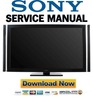 Thumbnail Sony KDL-46XBR8 55XBR8 Service Manual and Repair Guide