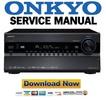 Thumbnail Onkyo TX NR3007 Service Manual and Repair Guide