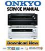 Thumbnail Onkyo TX-NR414 Service Manual and Repair Guide