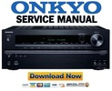 Thumbnail Onkyo TX-NR515 Service Manual and Repair Guide