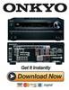 Thumbnail Onkyo TX-NR616 Service Manual and Repair Guide